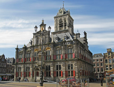 Tourist Attractions in Delft Netherlands