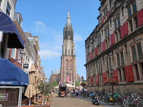 The New Church in Delft Netherlands (Nieuwe Kerk)