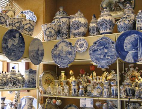 Royal Dutch Delftware Porcelain Factory Delft Holland