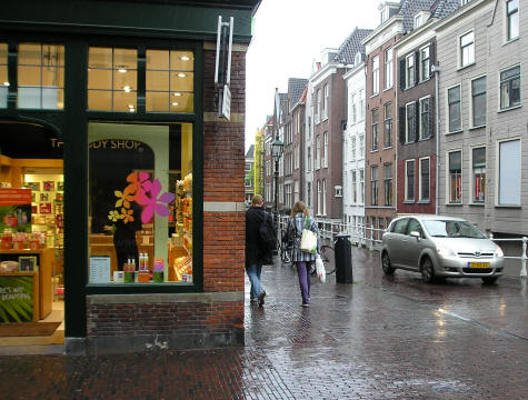 Shopping in Delft Netherlands